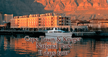 capetown new 351x185 - Cape Town & Kruger National Park - 11 Days from $3,120 per person twin share* land only