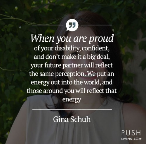 proud of your disability - Gina Campbell