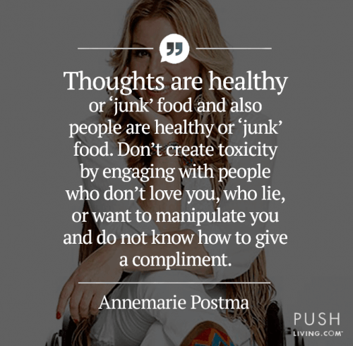 thoughts are healthy - Annemarie Postma, The Sitting Chef