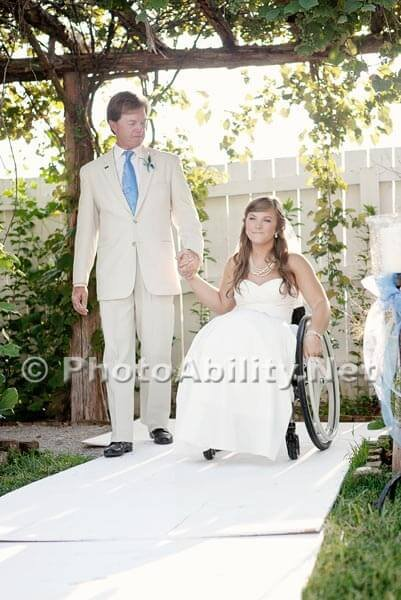 """GJ 2012 003 401x600 - Voices of the Community - A """"paralyzed bride"""" gets married."""