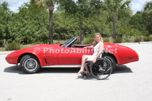 IMG 3756 300x200 - Woman with some Classic Cars