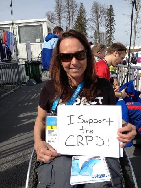 candaceCRPD - Why I Support the Ratification of the UN CRPD