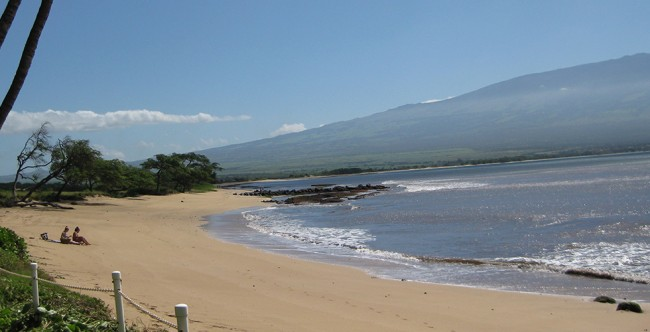 Beautiful oceanfront property next to 4 miles of undeveloped beach - Maui Accessible Condo