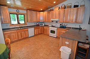 Extra Large Kitchen1 - Namakagon Landing Accessible Lakehome