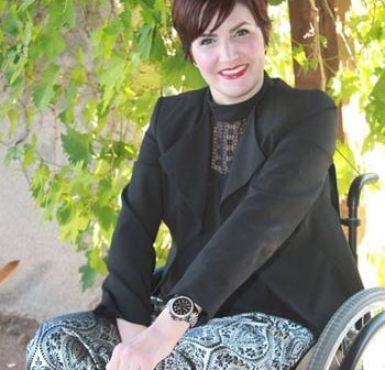 Gina 1 003 350x336 - Profiles in Online Dating: Woman with Disabilities Share Their Road Back to Love, Lust and Empowerment