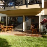 Large double lanai patio with easy level access to the condo and grounds 150x150 - Maui Accessible Condo