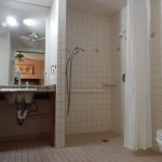 Large roll in shower in the master bathroom 150x150 - Maui Accessible Condo