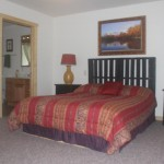 Master Bedroom and Bathroom Beds are wheelchair appropriate height1 150x150 - Namakagon Landing Accessible Lakehome