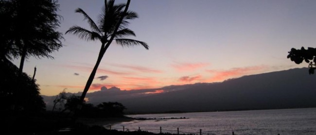 Morning sun rise - Maui Accessible Condo