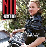 NM 180x185 - Deborah Davis - New Mobility's Person of the Year 2013