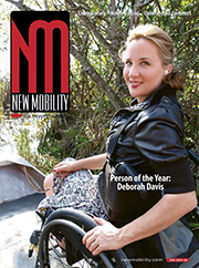 NM - Deborah Davis - New Mobility's Person of the Year 2013