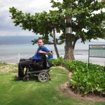 Purpose built raised area for better wheelchair viewing of the ocean and beach 150x150 - Maui Accessible Condo