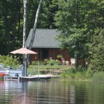 View of home and dock from Lake Namakagon1 150x150 - Namakagon Landing Accessible Lakehome