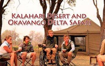 Botswana 1 343x215 - Kalahari Desert and Okavango Delta Safari