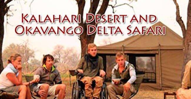 Botswana 1 650x336 - Kalahari Desert and Okavango Delta Safari