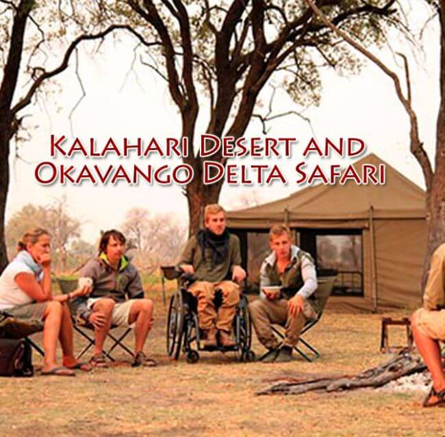 Botswana 1 - Kalahari Desert and Okavango Delta Safari