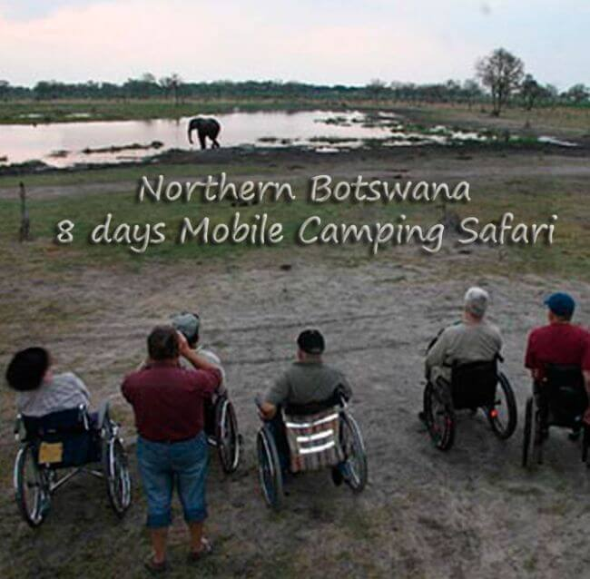 Botswana 4 - 8 days Mobile Camping Safari Northern Botswana