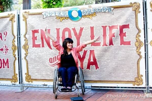 """ines2 600x400 - Behind the Scenes at A """"Disability Inclusive"""" Stock Image Photoshoot with PhotoAbility"""
