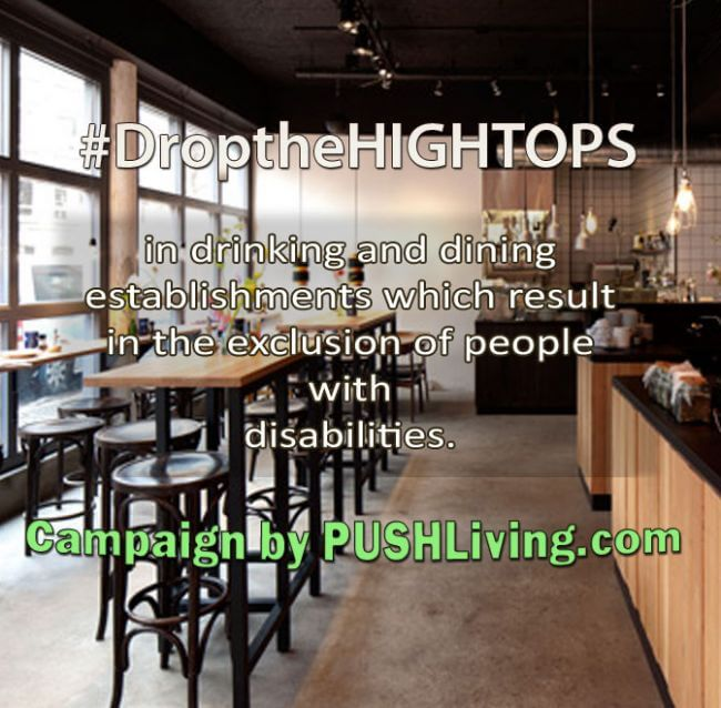 Drop the High Tops PushLiving Campaign
