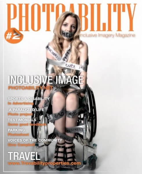 "rachelleCover 490x600 - Dear Media:  Please Stop Saying We Are ""Bound to Wheelchairs"""