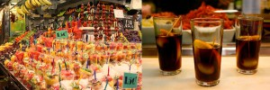 Barcelona foods 300x100 - Catalonia Holiday, Barcelona & Penedes 7 days tour