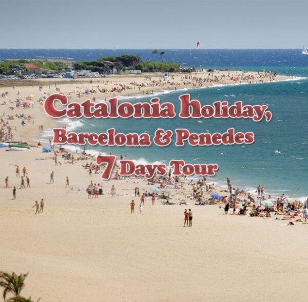 Catalonia 600x589 - Catalonia Holiday, Barcelona & Penedes 7 days tour