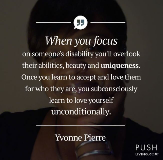 Quote about disability
