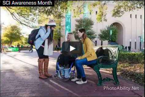 SCI Awareness - Spinal Cord Awareness Month Video: What is our Scene?