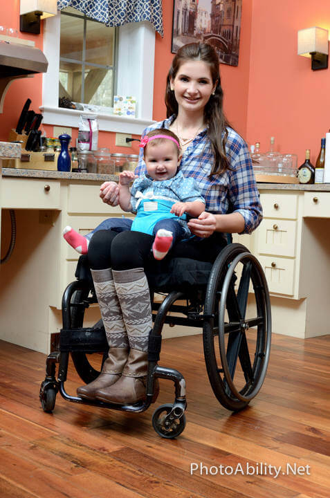 bridget6 - Can these Images of Mother w/ Baby Overcome Advertiser's Fear of Disability