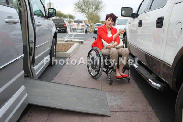 ginaParking3 - ASK PUSHLiving: What to do if you see someone abusing handicap parking?