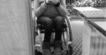 pretty girl in wheelchair
