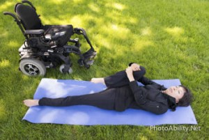 spineYoga 300x201 - Save your Spine! Two Woman Facing Surgery due to Damage post SCI