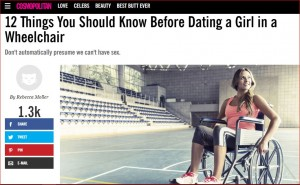 "cosmoCapture 300x185 - Our Response to Cosmo's  Advice on Dating a ""Woman in Wheelchair"""