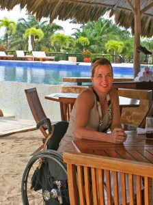 "debBelizePlacencia2013 224x300 - Our Response to Cosmo's Advice on Dating a ""Woman in Wheelchair"""