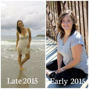 now and then 2015 300x300 - How to Transform your Health - with Nutrition, Fitness and Gratitude