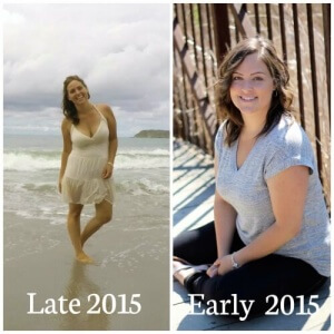 now and then 2015 500x500 300x300 - weight loss through Holistic Nutrition