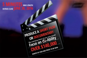 "short film 300x200 - Australia Hosts Worldwide ""Focus On Ability"" Short Film Festival"