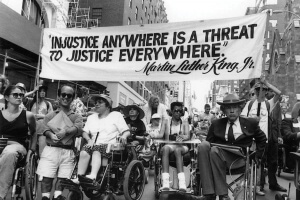 Injustice anywhere is injustice everywhere ADA Disability Rights 300x200 - Disability Right are a Human Right
