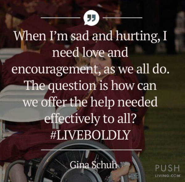 LiveBoldly and offer support to those with SCI 600x589 - Gina Schuh