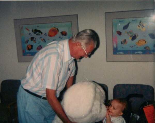 "my deceased grandpa Bill Brown and I 600x476 - My""Second"" Birthday: The Day I Survived and My Life Changed Forever"