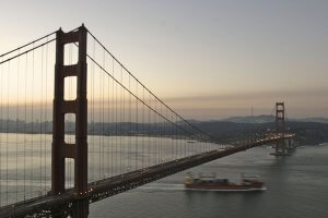 Golden Gate Bridge Ship in the Mist 300x200 - A Romantic Getaway For Your Valentine In San Francisco And The Wine Country