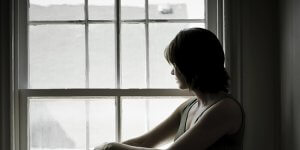 Silhouette of a sad looking woman 300x150 - My Caregiver is Sick: What Happens When the Roles Reverse?
