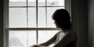 Silhouette of sad looking woman 300x150 - Silhouette-of-sad-looking-woman
