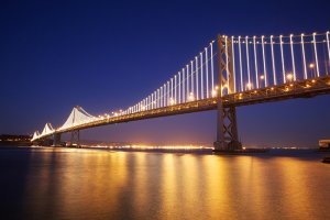 The Bay Lights 300x200 - A Romantic Getaway For Your Valentine In San Francisco And The Wine Country