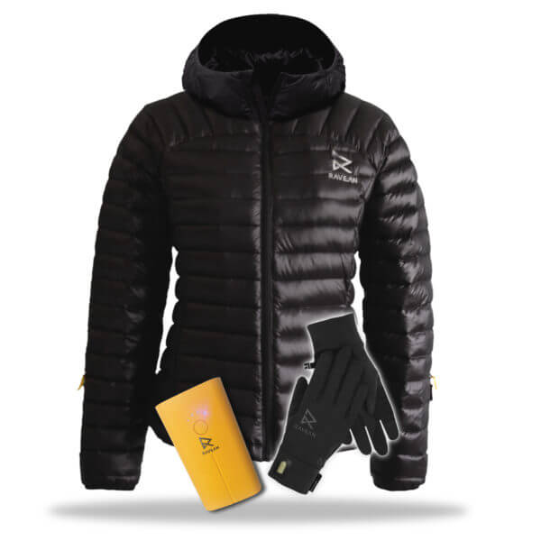 "womens hooded jacket battery glove - Last Minute ""Wheely Favorite Things"" Holiday Gift Guide from PUSHLiving.com"