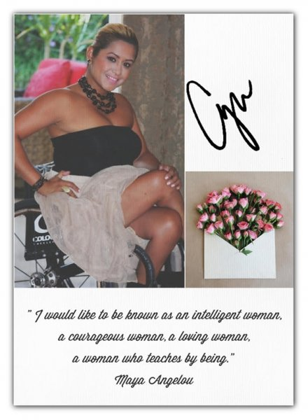"cynthiaQuotes 440x600 - Introducting: ""C' NOTES"" Now in Beauty & Fashion"