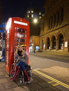 Kelly London 230x300 - Living Abroad: An American Wheelchair User's Perspective