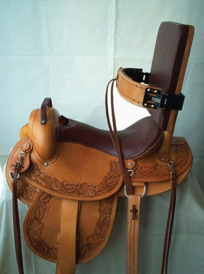 saddle for disabled riders 298x400 - Horses for Therapy? Wheelchair Users Find Reasons to Get Back into the Saddle!