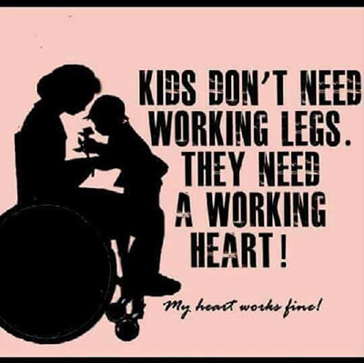 KidsDontNeedWorkingLegs - Education and Exposure is Key to Bias Against Disabled Mothers