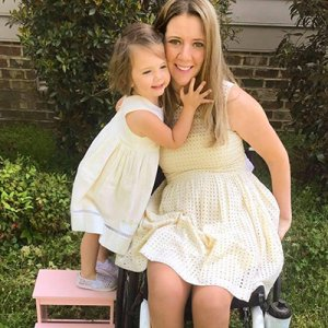 Rachelle Friedman a quadriplegic with her baby Girl 300x300 - Education and Exposure is Key to Bias Against Disabled Mothers